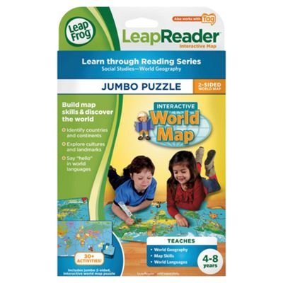 Buy leapfrog tag world map jumbo puzzle from our electronic learning leapfrog tag world map jumbo puzzle sciox Choice Image