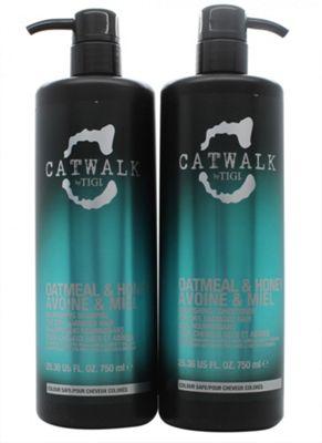 Tigi Duo Pack Catwalk Oatmeal & Honey 750ml Shampoo + 750ml Conditioner