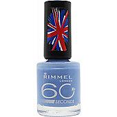 Rimmel 60 Seconds Nail Polish 8ml - Mind The Gap Victoria