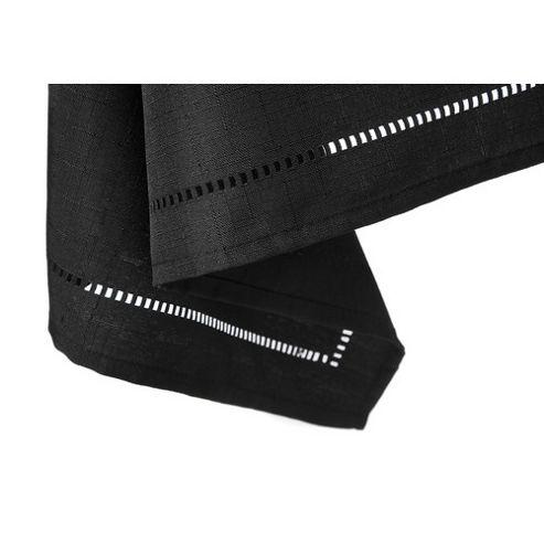 Blue Canyon Sienna Set Table Cloth - 137cm x 137cm (4 Seatings) - Black