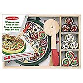 Melissa & Doug Pizza Party Wooden Playset