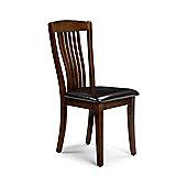Mahogany Finish Dining Chair