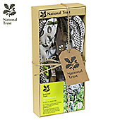 Charles Bentley National Trust Gift Set With Secateurs And Soft Cotton Gloves Garden Tools