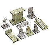 Hornby Skaledale R8574 Gravestones - Oo Gauge Buildings