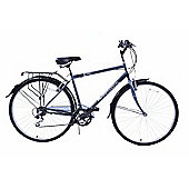 "Professional Regent 700c Mens 18 Speed Hybrid 23"" Frame Bike"