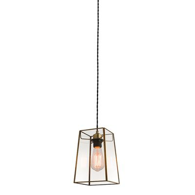 Beaumont Non Electric 60W Ceiling Pendant Light Clear Glass