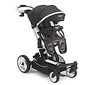 Mee-Go Inspire Stroller Pram/Maxi Cosi Adaptors - Black Denim