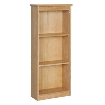 Home Essence Hamilton Low Narrow Bookcase