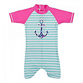Banz Baby and Girls UV All in One   Anchor - Pink & Multi