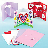 Mother's Day Heart Pop-out Cards (Pack of 8)
