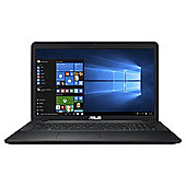 "Asus X751NA 17.3"" Intel Celeron 8GB RAM 1TB HDD DVDRW  Black Laptop"