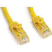 StarTech 50 feet Snagless Cat6 UTP Patch Cable - Yellow