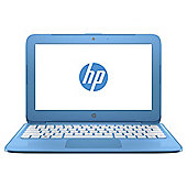 "HP 11.6"" Stream 11-y000na Intel Celeron 2GB RAM 32GB Storage Blue Laptop with Office 365 and 1TB OneDrive Storage"