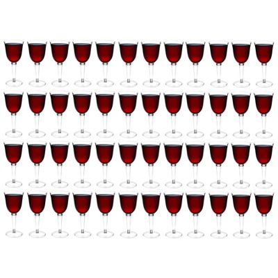Rink Drink Plastic Red / White Wine Outdoor Glasses - Pack Of 48