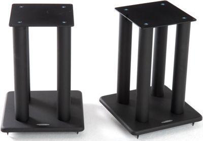 Atacama Speaker Stands in Black - Height 400mm
