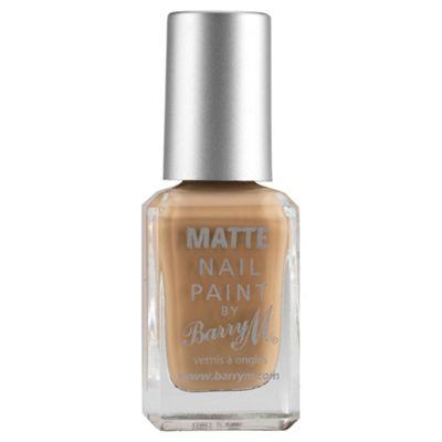 Barry M Matte Nail Paint 3 Caramel 10Ml