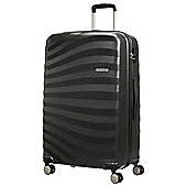American Tourister Oceanfront Large 4 Wheel Black Suitcase
