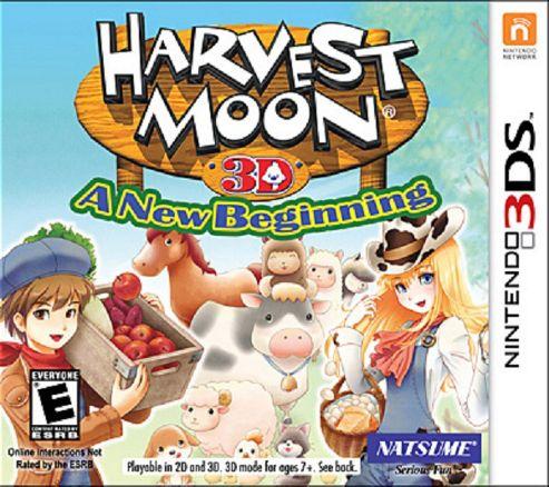 Harvest Moon 3D: A New Beginning 3Ds