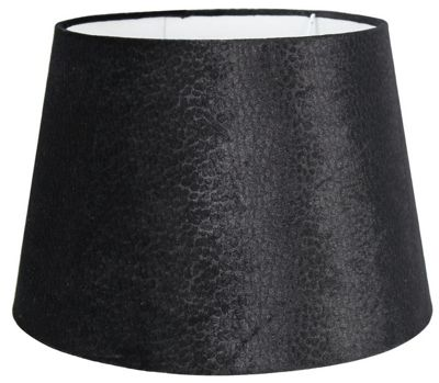 Bedroom Living Decor Lamp Shade 13 inch Snake Drum Black