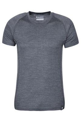 Mountain Warehouse Summit Mens Merino T-Shirt ( Size: L )