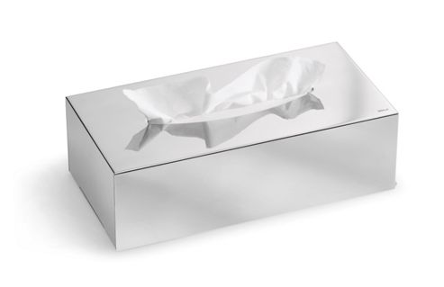 Blomus Nexio Tissue Box in Polished Stainless Stell (Set of 2)