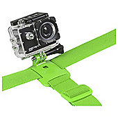 Kitvision Action Camera/Go Pro Head Strap - Green