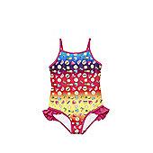 Emoji Print Swimsuit - Multi