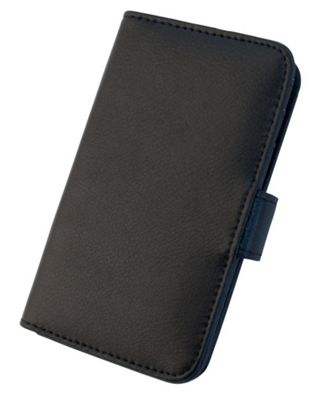 Tortoise™ Genuine Leather Folio Case Samsung Galaxy SIII Black