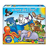 Orchard Toys Where Do I Live?