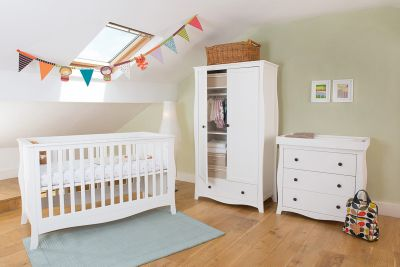 Little House Nursery Furniture Room Set With Sprung Mattress Brampton Collection