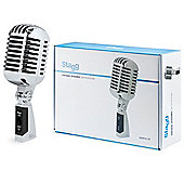 Stagg SDMP40 CR 50s Style Dynamic Microphone