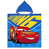 Disney Cars Hooded Towel Poncho
