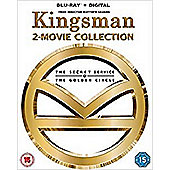 Kingsman: The Secret Service / Kingsman 2: The Golden Circle Boxset BD+DD