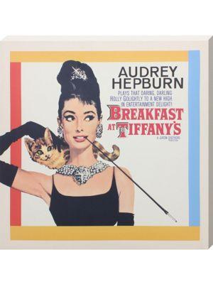 Breakfast at Tiffanys Audrey Hepburn as Holly Golightly Canvas Print