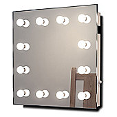 Hollywood Makeup Dressing Room Mirror with Cool White Dimmable LED lamps k411CW