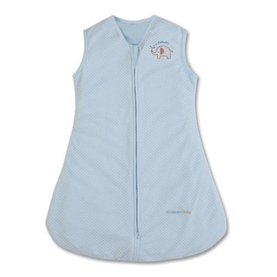 BreathableBaby Breathable Sleep Sack Blue Medium