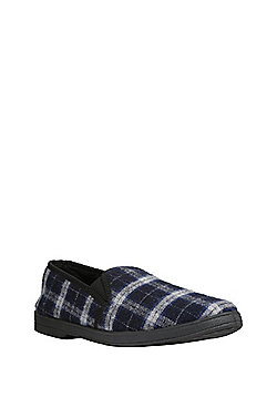 "F&F Closed Back Slippers with Thinsulate""™ - Navy"