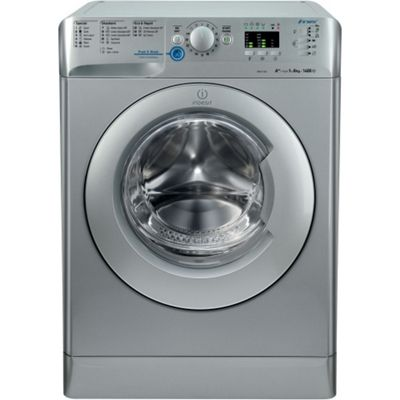 Indesit Innex Washing Machine, XWA 81482X S UK, 8KG load, with 1400 rpm - Silver
