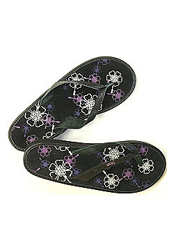Vans Santa Rosa Wedge Black/Grapeade Womens Sandals - Black