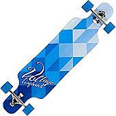 Voltage VOLLB401 Complete Drop Through Longboard - Blue