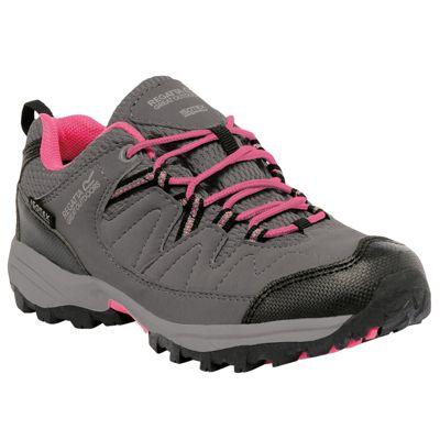 Regatta Girls Holcombe Low Junior Shoe Steel 10