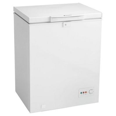 Hotpoint RCAA100P Chest Freezer, 65cm, A+ Energy Rating, White