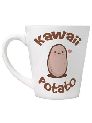 Kawaii Potato White Latte Mug