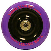 Slamm Purple Metal Core Scooter Wheel and Bearings