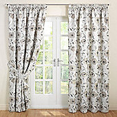 Julian Charles Carmen Natural Jacquard Lined Pencil Pleat Curtains - 44x54 Inches (112x137cm)