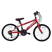 "Salcano Excel 20"" Wheel Kids MTB Bike 18 Speed Red"
