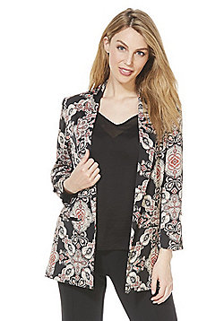 F&F Paisley Print Blazer Jacket - Multi