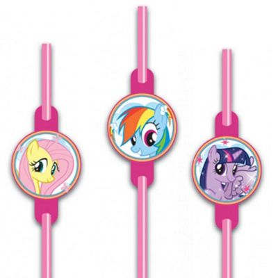 My Little Pony Drinking Straws