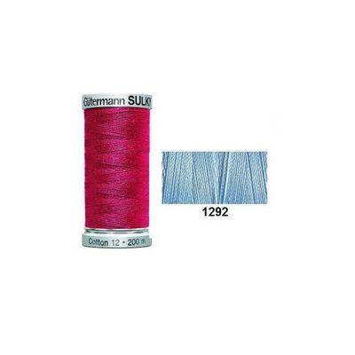 Gutermann Sulky Cotton 200m Heron Blue