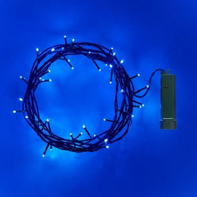Buy 48 Blue Led Outdoor Battery Fairy Lights From Our All